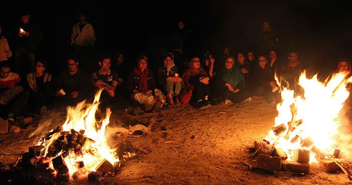 مراسم چهارشنبه سوری قبل از عید نوروز