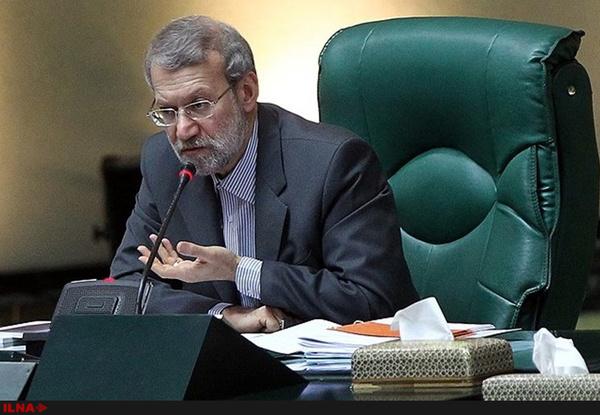 لاریجانی: دولت در اجرای قانون اقتصاد مقاومتی تخلف کرده است
