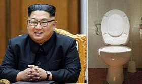 اون توالتش را هم به سنگاپور برد! (+عکس)