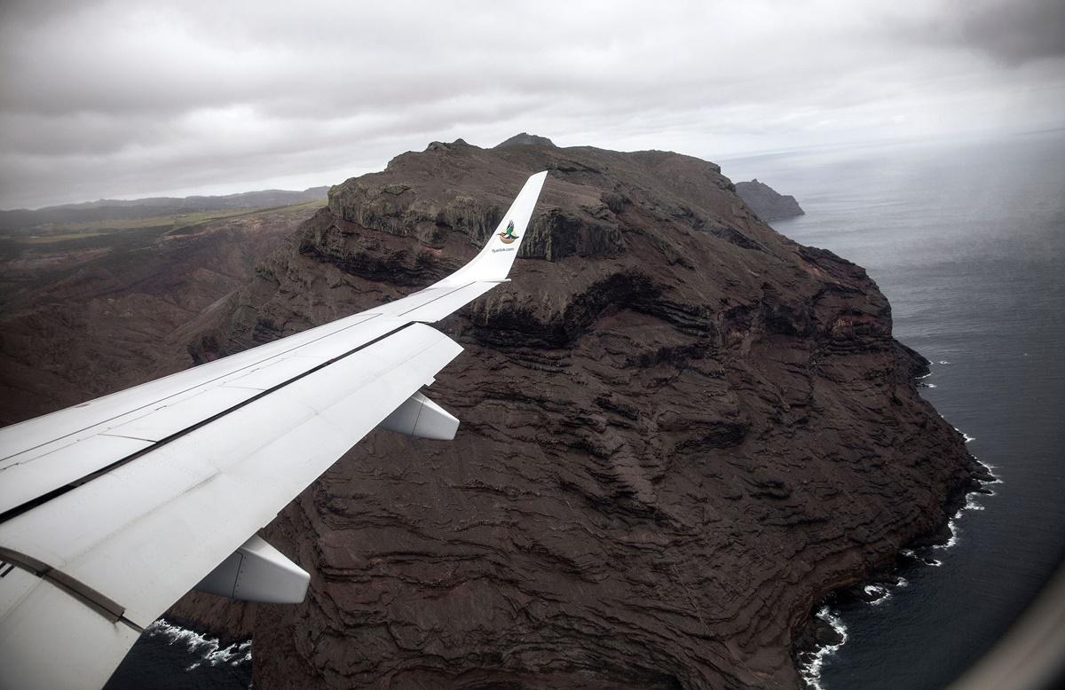 بیمصرفترین فرودگاه جهان در جزیرهای دورافتاده