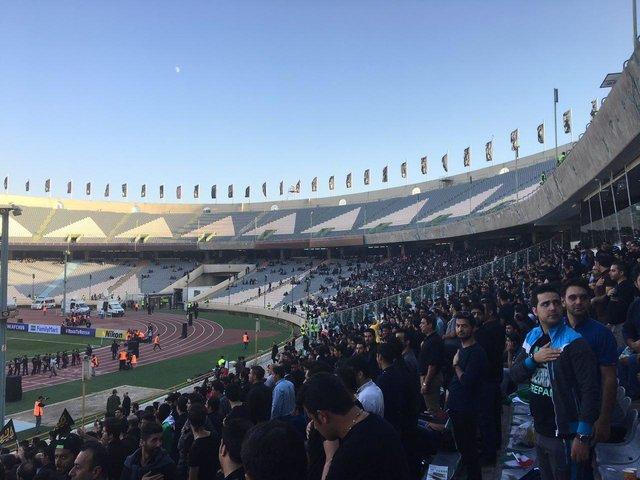 چهار تصویر عجیب از ورزشگاه خانگی استقلال و پرسپولیس / مانند بقایای تمدن های از یاد رفته می ماند / استقلال السد از زاویه ای دیگر