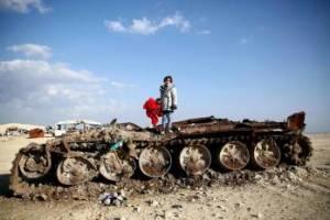 عکس یادگاری دختر سوری