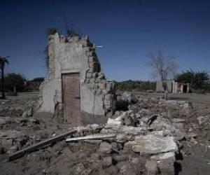 خسارت سیل در روستاهای زر آباد سیستان و بلوچستان