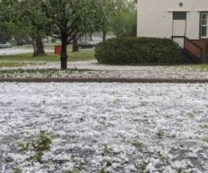 بارش تگرگ به بزرگی توپ گلف_استرالیا