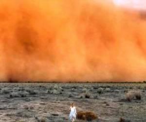تصویری باورنکردنی از طوفان گرد و غبار در استرالیا