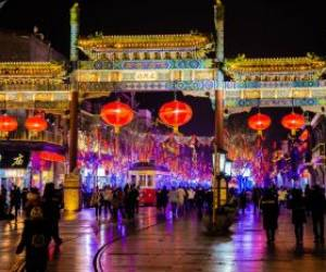 جشن سال نو چینی در پکن