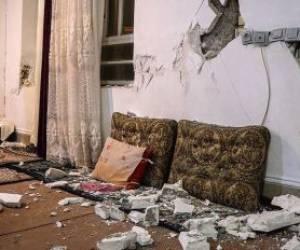 خسارات زلزله در خان زنیان فارس