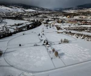 هنر قدم زدن روی برف