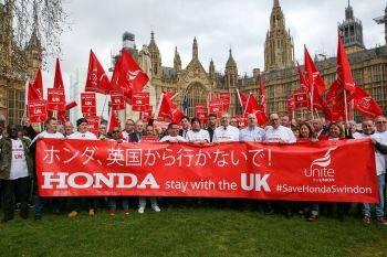 اعتراض کارکنان شرکت هوندا