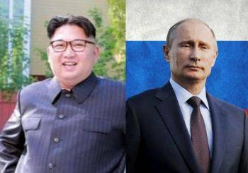 رهبر کره شمالی با قطار زره پوش به روسیه رسید
