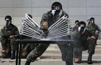 مهارت رزمی ارتش کره جنوبی