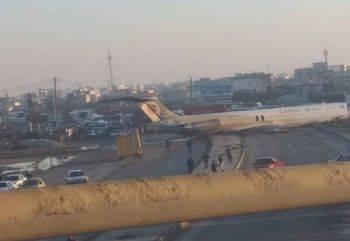 خروج هواپیما از باند فرودگاه ماهشهر