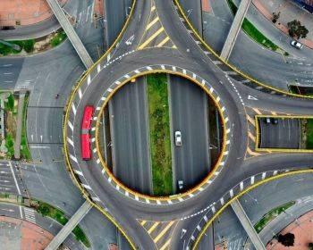 تصاویر هوایی از تاثیر کرونا بر مراکز تجمع در نقاط مختلف جهان