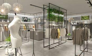 بررسی رنگ و نور در طراحی دکوراسیون مغازه