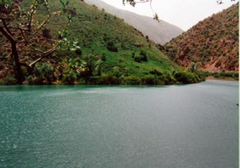 گردشگری  - دریاچه مارمیشو آذربایجان غربی