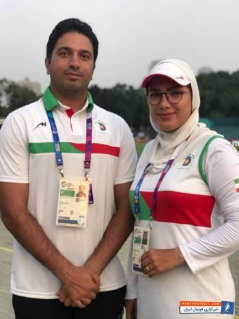خواستگاری مجید قیدی از پریسا براتچی در بازی های آسیایی جاکارتا 2018