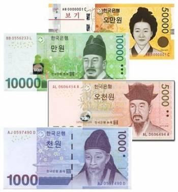 قیمت وون کره جنوبی / بررسی اسکناس وون و قیمت حواله ارزی