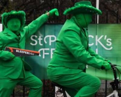 """جشنواره سالانه روز """"سنت پاتریک"""" در شهر """"دوبلین"""" ایرلند"""