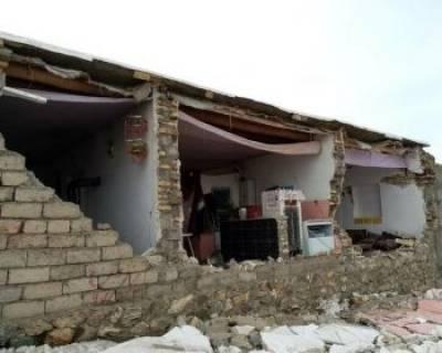 تصاویری از خسارات زمین لرزه در خوی
