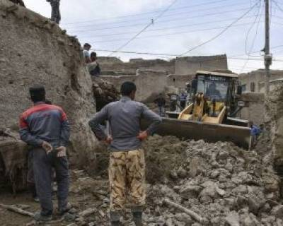 خسارت سیلاب در قوچان
